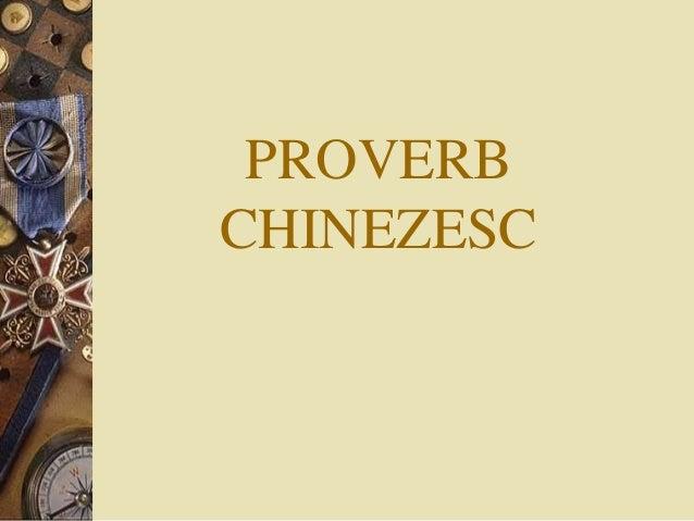 Proverbul care aduce noroc