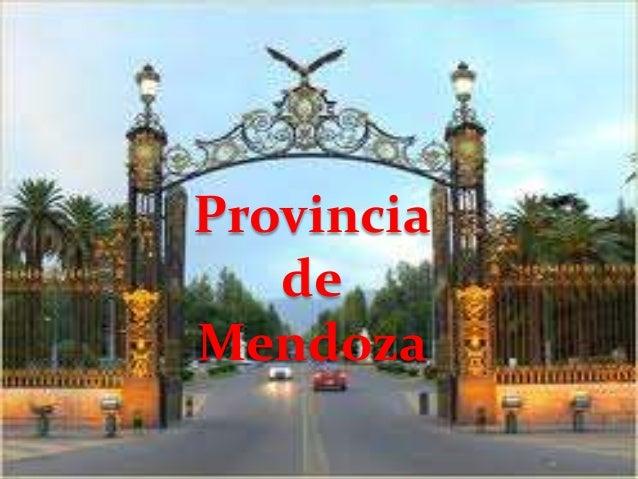 Provincia   deMendoza