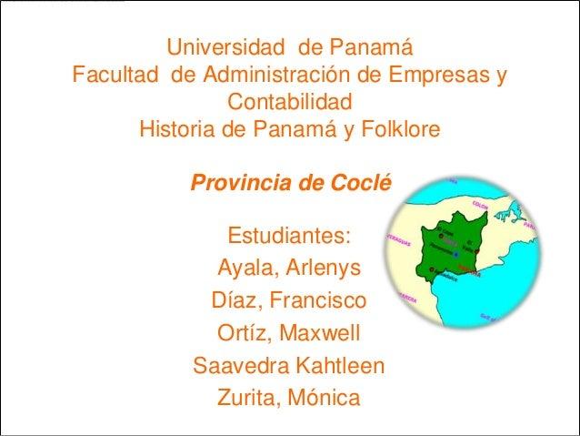 Provincia de coclé
