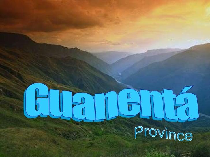 Provincia guanenta