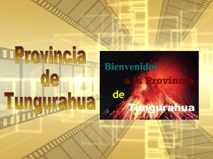 Ecuador: Provincia de Tungurahua