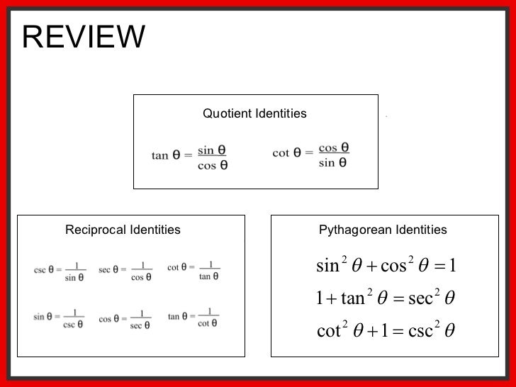 Verifying Trigonometric Identities Worksheet - Imatei