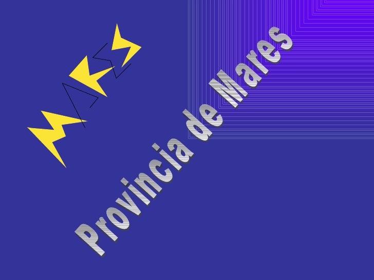 Provincia de Mares
