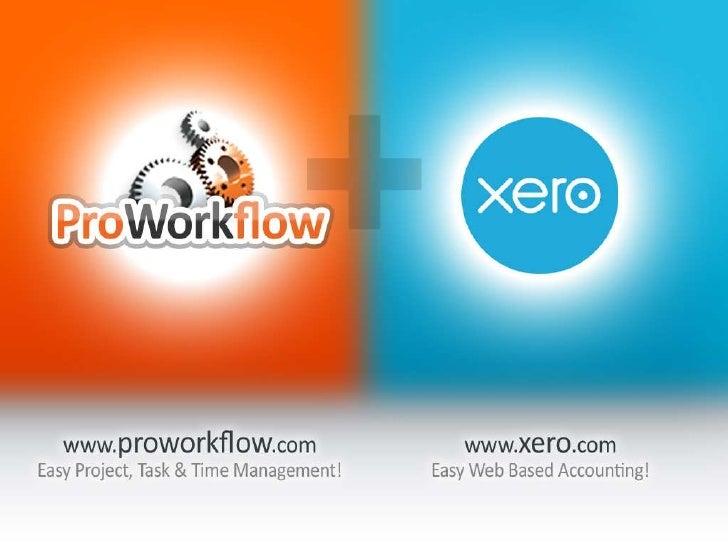 ProWorkflow - Xero Integration