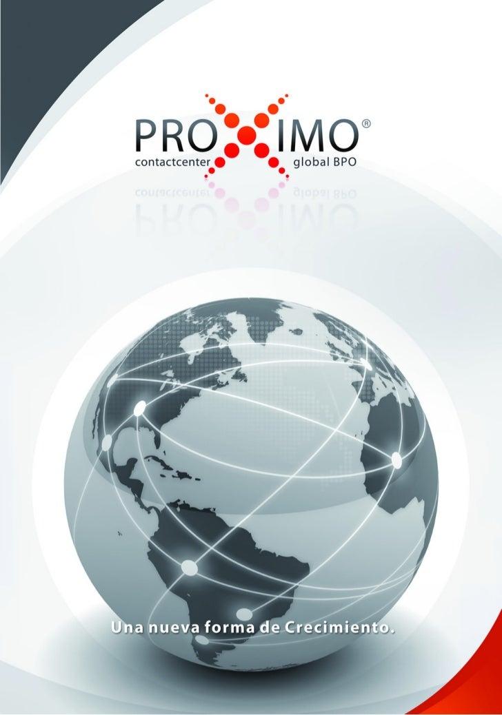 PROXIMO Contact Center BPO brochure