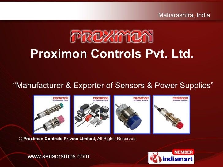 Inductive Switch & Photoelectric Switch Maharashtra India