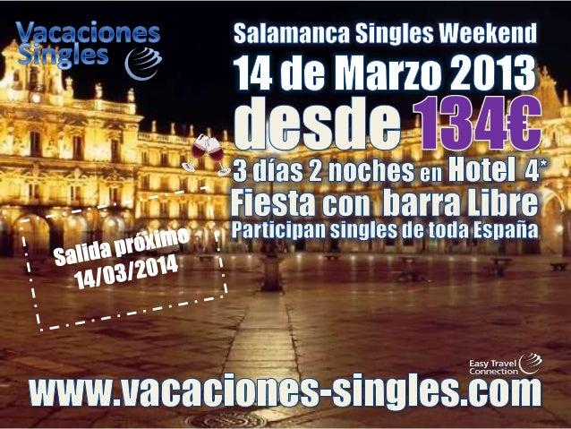 viajes para singles solteros y solteras 2014