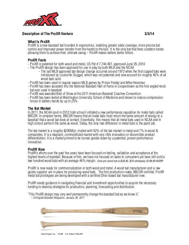 ProXR biz overview 3 5-14