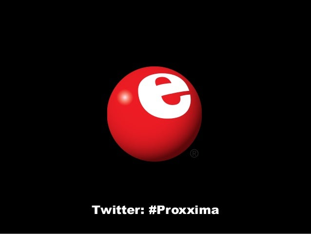 Twitter: #Proxxima