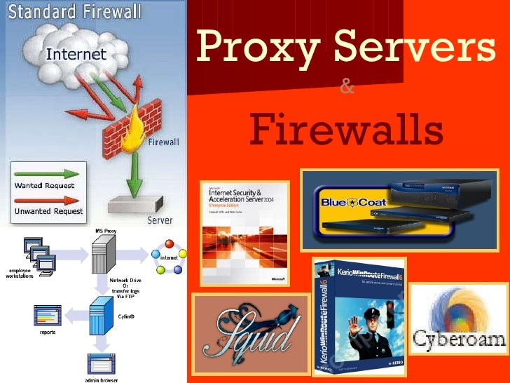 Proxy Servers & Firewalls