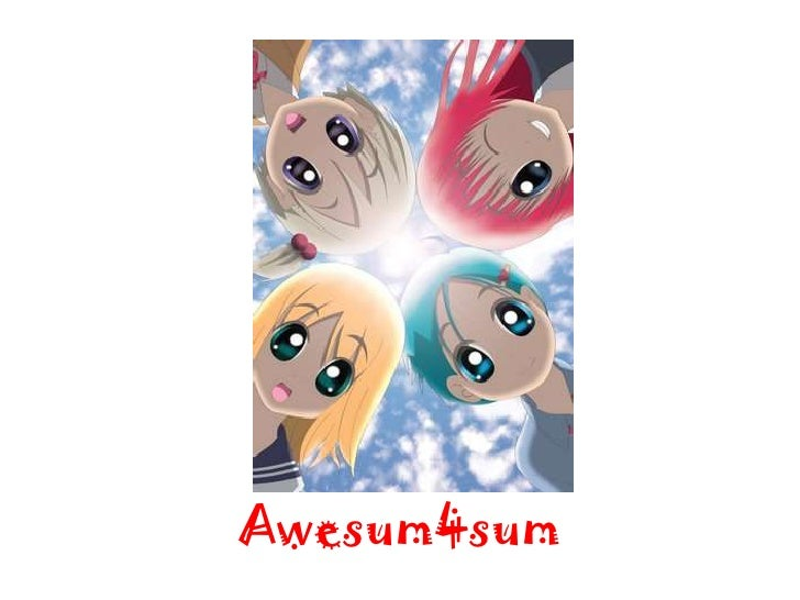 Awesum4sum<br />