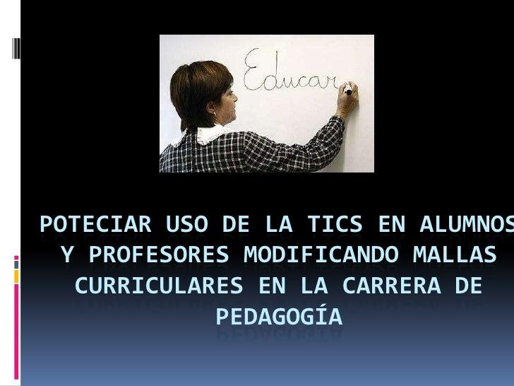Proyecto de mejora a la educación chilena