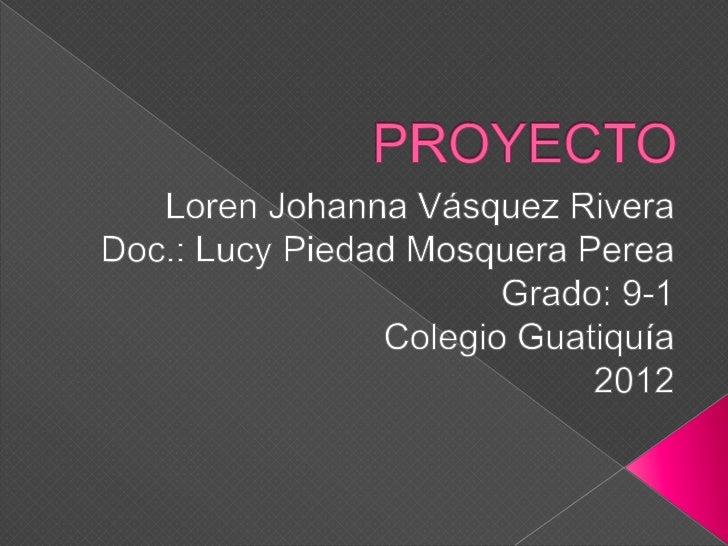    Un proyecto es una planificación que    consiste en un conjunto de actividades que    se     encuentran    interrelaci...