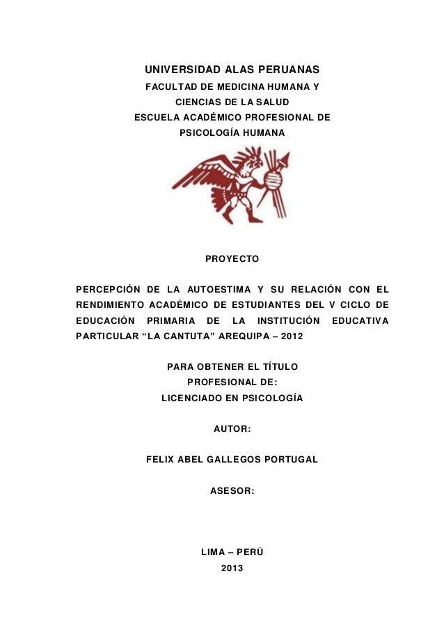 UNIVERSIDAD ALAS PERUANAS FACULTAD DE MEDICINA HUMANA Y CIENCIAS DE LA SALUD ESCUELA ACADÉMICO PROFESIONAL DE PSICOLOGÍA H...
