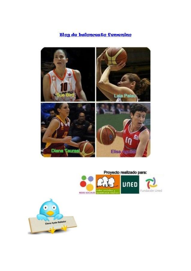 Blog de baloncesto femenino