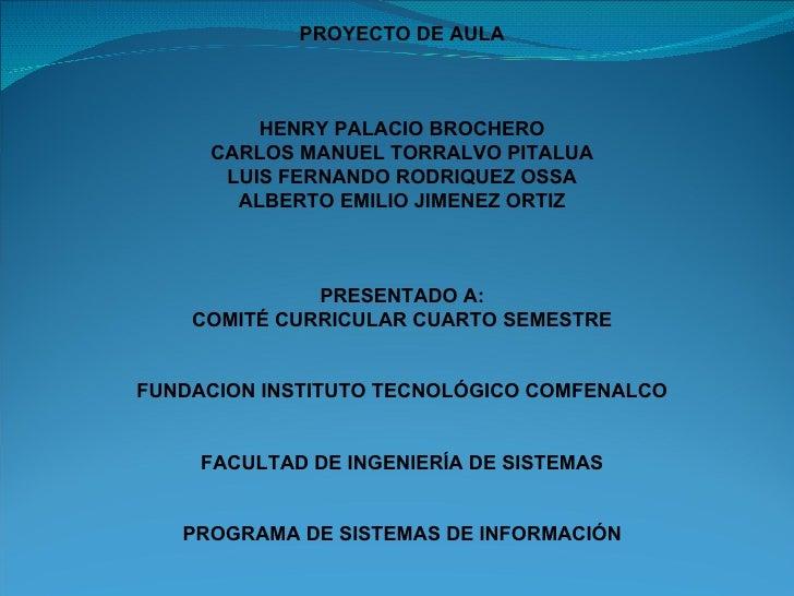 Proyecto De  Aula  Impuesto De  Industria Y  Comercio  Maria  Labaja