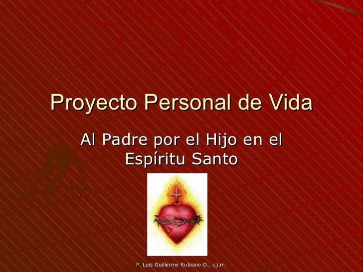 Proyecto Personal de Vida