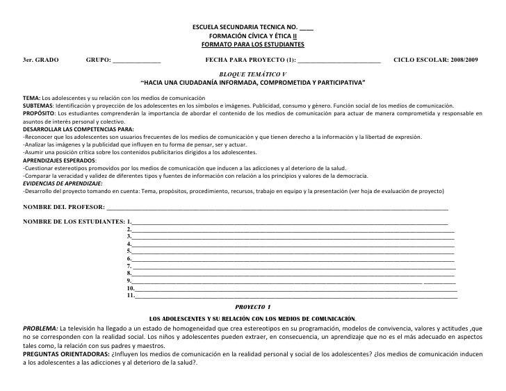 Proyecto 1 Fce 3ro Alumnos Rcm