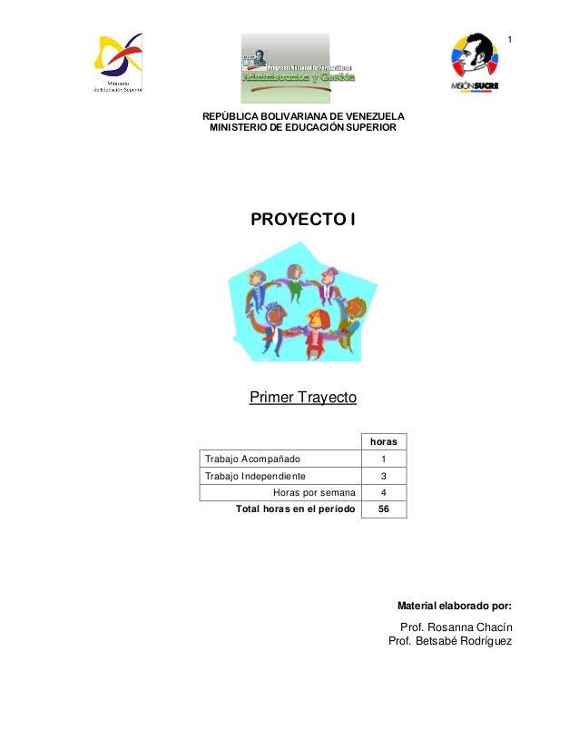 Proyecto 1 administracion