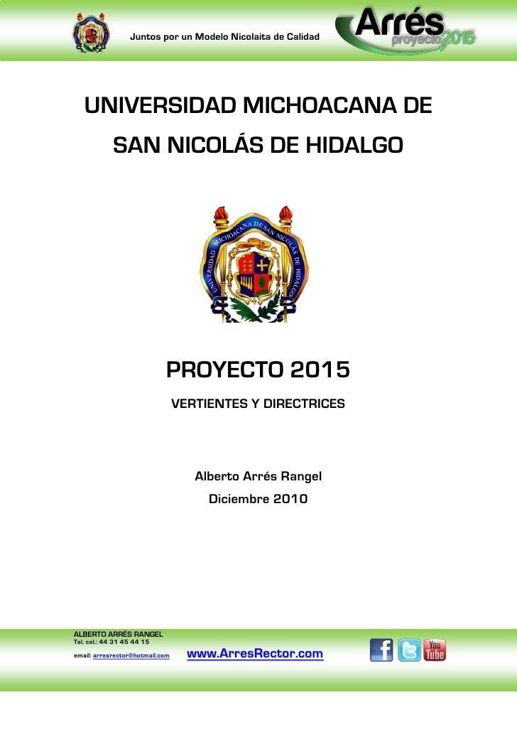 Proyecto 2015