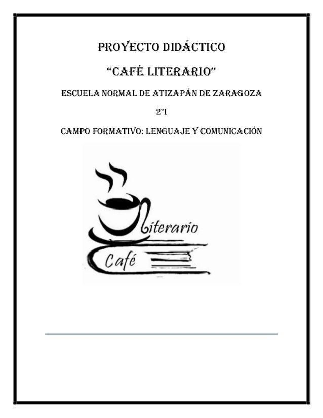 Proyecto cafe for Proyecto cafeteria escolar