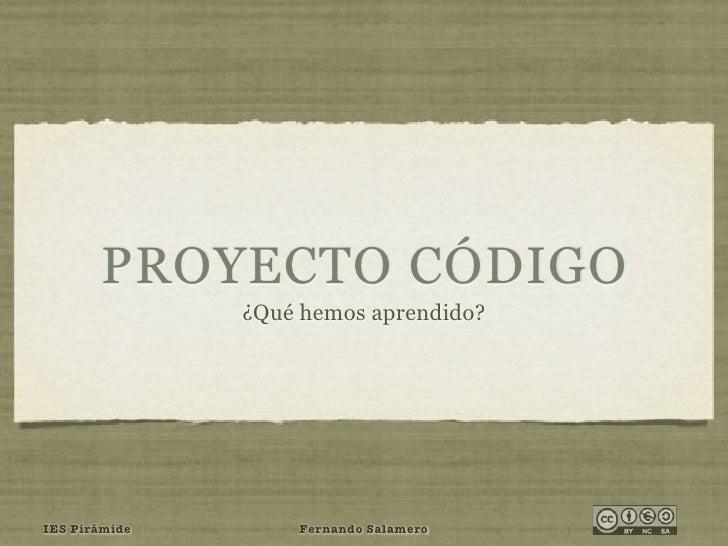 Proyecto Código