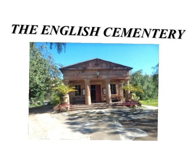 THE ENGLISH CEMENTERY