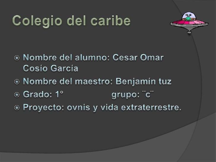 Proyecto Cesar Cosío