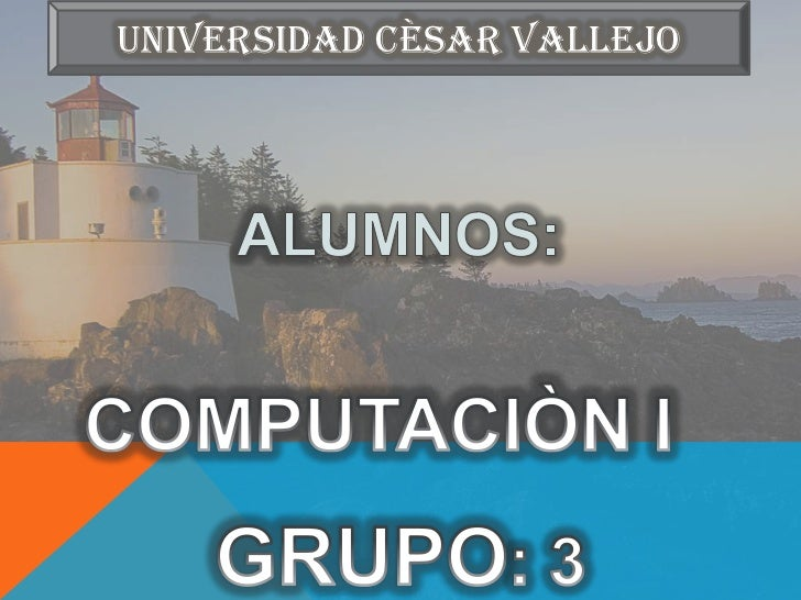 UNIVERSIDAD CÈSAR VALLEJO