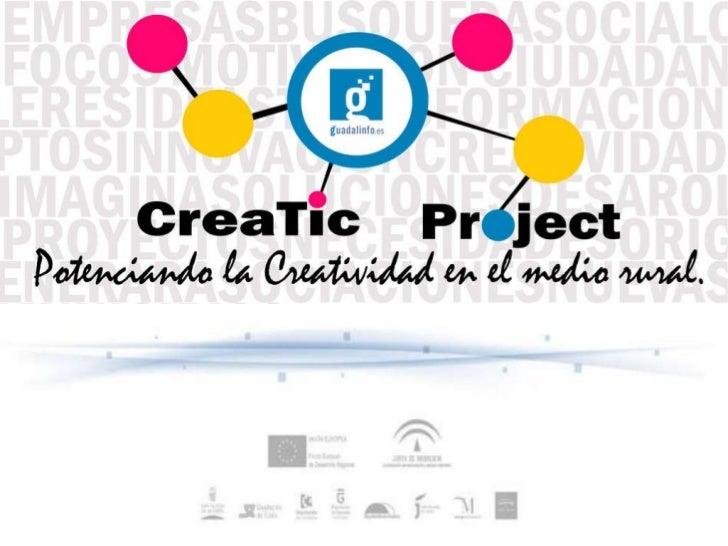 CreaTic Project   Presentación