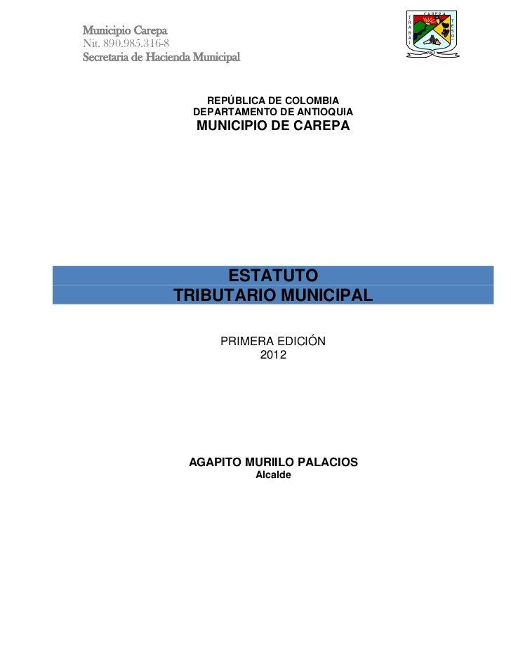 Proyecto de acuerdo etm carepa 2012 primer borrador[1]
