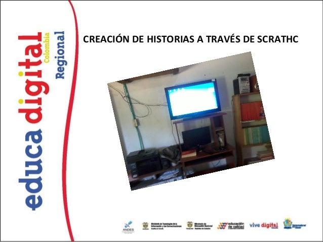 CREACIÓN DE HISTORIAS A TRAVÉS DE SCRATHC