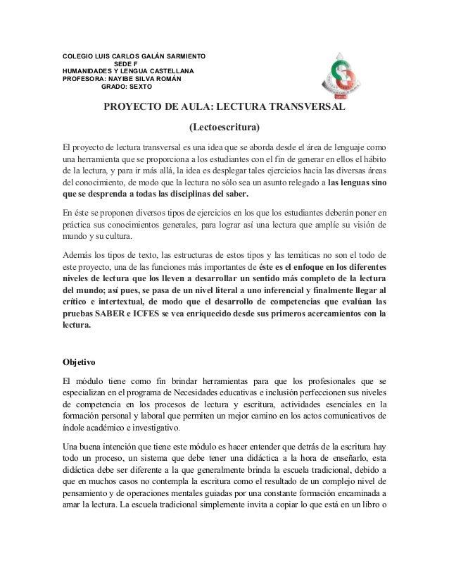 COLEGIO LUIS CARLOS GALÁN SARMIENTO             SEDE FHUMANIDADES Y LENGUA CASTELLANAPROFESORA: NAYIBE SILVA ROMÁN        ...