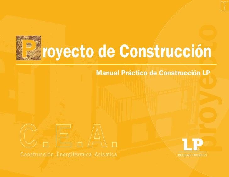 proyecto de                                                                               construcción                    ...