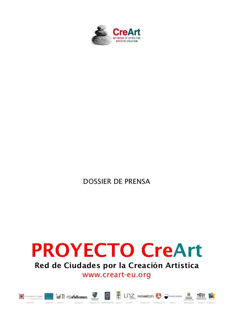 Proyecto de cooperación cultural Creart Fundacion Municipal de Cultura Ayuntamiento Ocio y Rutas Valladolid