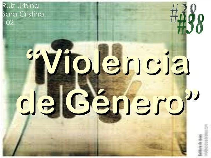 """Proyecto: """"Violencia de Genero"""""""