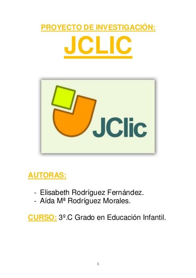 Proyecto de investigación jclic (1)