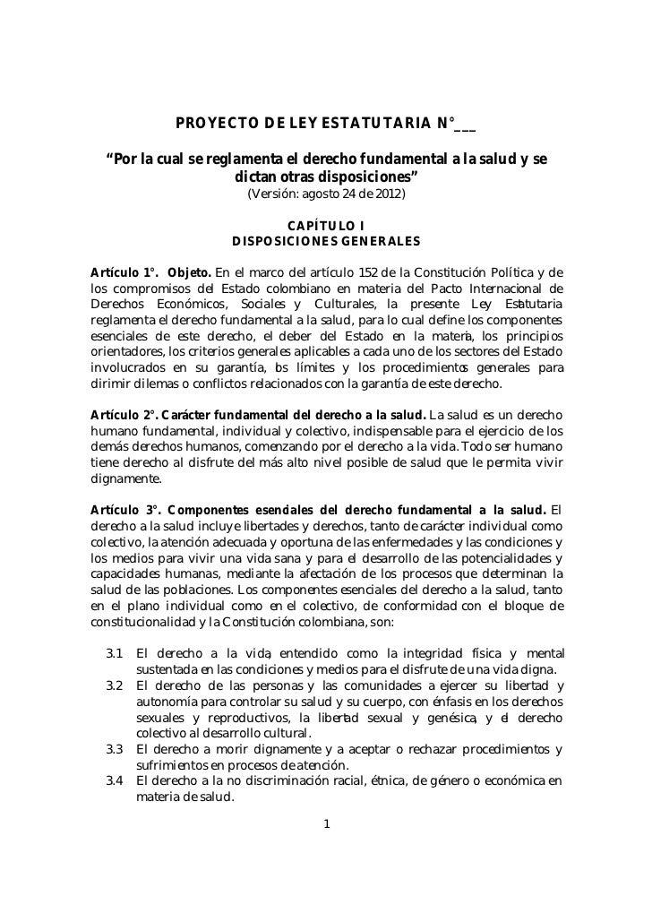Proyecto de ley estatutaria salud ley ago_29_12 (2)