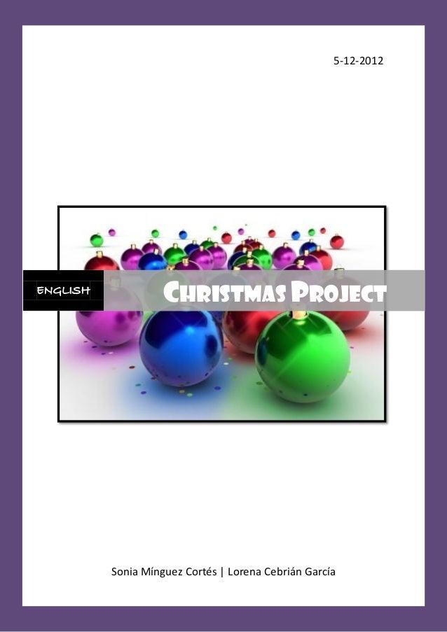 Proyecto de navidad