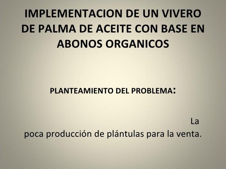 Proyecto De Palma