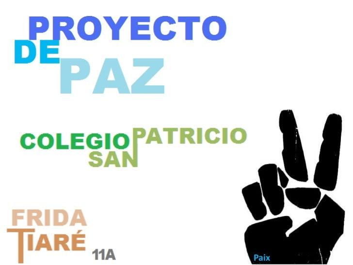 Paix<br />