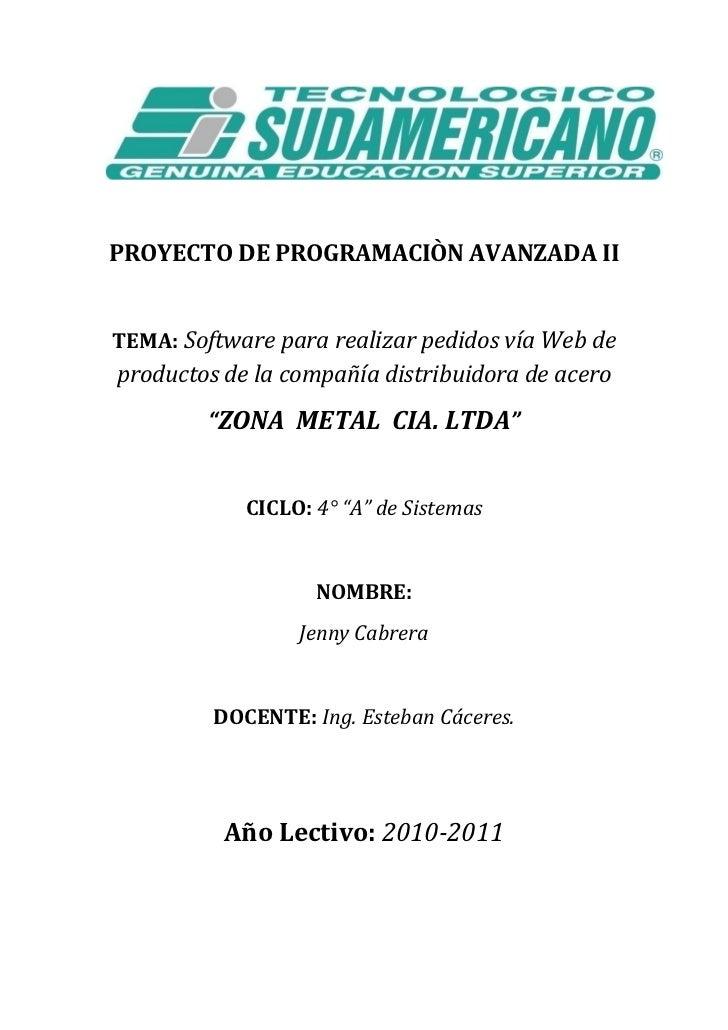 Proyecto de pro. ava. 2