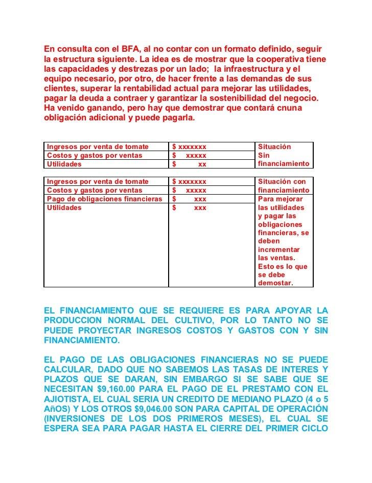 Proyecto de produccion de tomate coop. el rosario mayo 2011 obs will