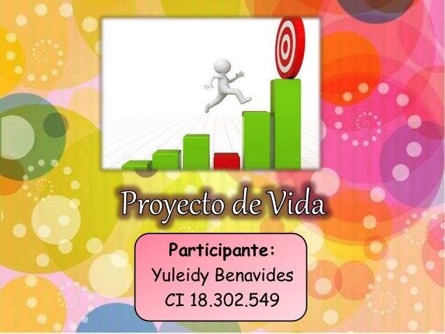 Participante: Yuleidy Benavides CI 18.302.549