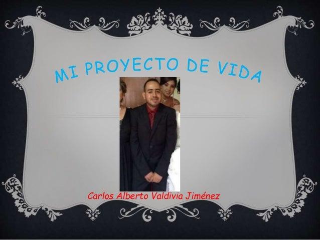 Carlos Alberto Valdivia Jiménez