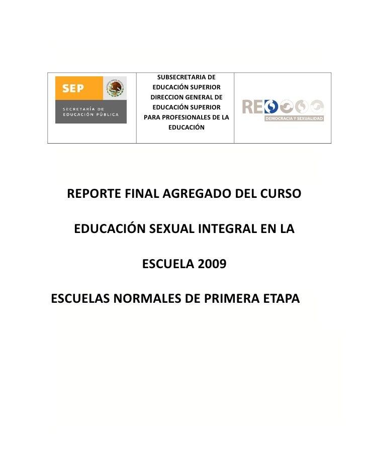 SUBSECRETARIA DE               EDUCACIÓN SUPERIOR               DIRECCION GENERAL DE               EDUCACIÓN SUPERIOR     ...