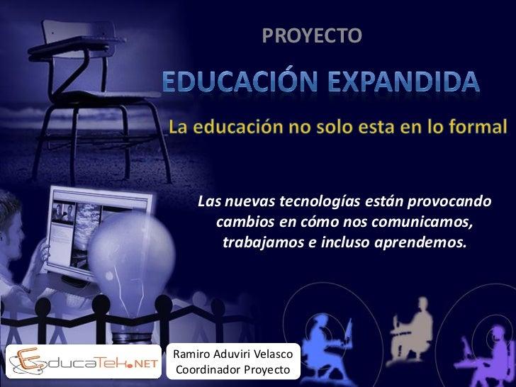 Proyecto Educación Expandida