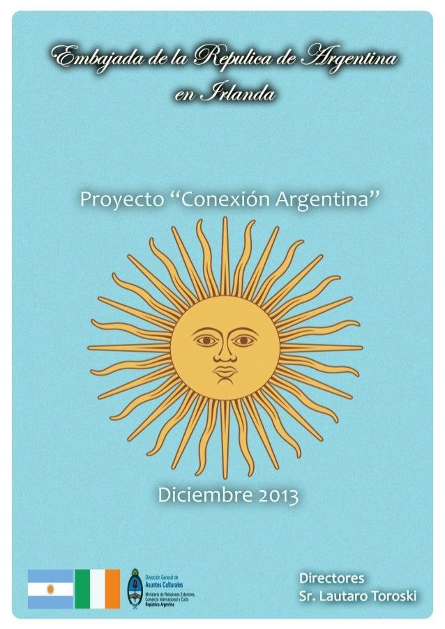 """Proyecto  """"Conexion Argetina"""""""