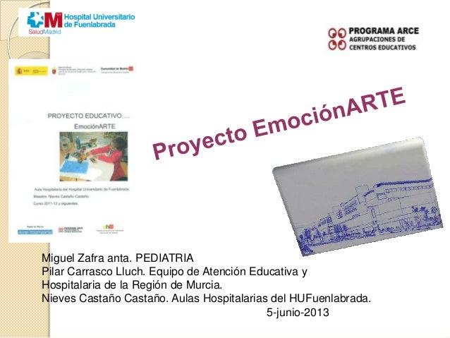 Proyecto emocionARTE 2013