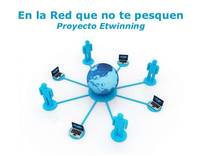 Free   Powerpoint   Templates En la Red que no te pesquen Proyecto Etwinning
